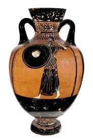 vasi etruschi ceramica a figure nere con vasi greci decorazioni e