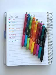 50 category ideas for color coding your planner bullet planners