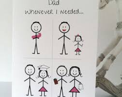 father daughter card etsy