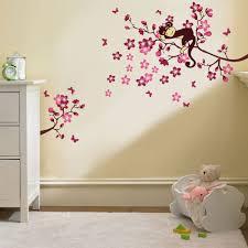 stickers arbre chambre enfant sticker le singe dans l arbre sticker chambre enfant