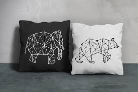 3 animal constellation illustrations on behance
