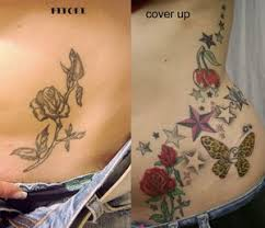 stars and flowers cover up tattoo designs tattoomagz