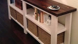 Diy Sofa Table Sofa Table Diy Golbiprint Me With Additional Fancy Interior Trend