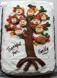 coolest family tree cake