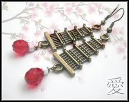 pagoda earrings brass pagoda dangle earrings vs jewelry jewelry