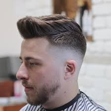 skin fade with medium length textured hair