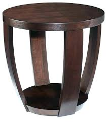 side accent tables large round side table large round accent table modern wood side