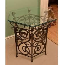 cast iron glass table cast iron glass table at rs 5750 piece kaanch ki mez kraft s