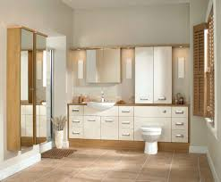 Fitted Bathroom Furniture White Gloss Fitted Bathrooms In Bolton Showers Bathroom Ideas