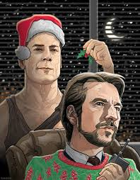 fantastic new geek culture christmas card art features indiana
