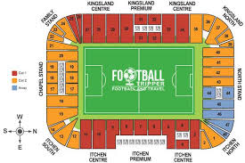 tottenham wembley seating plan away fans st mary s stadium southton f c football tripper