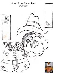 printable scarecrow patterns aussie pumpkin patch mr