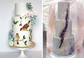wedding cakes ideas trends the bridal cake wedding trends ruffles