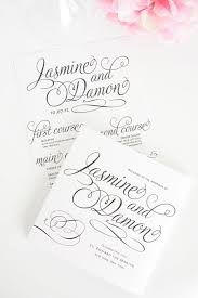 programs for weddings charming script wedding programs wedding invitations