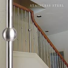 Metal Stair Rails And Banisters 64 Best Stainless Steel Balustrades Images On Pinterest