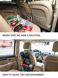 Accessories For Cars Interior Backseat Car Organizer U2013 Kids Toy Car Storage U2013 Travel Accessories