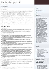 Examples Of Paralegal Resumes by Paralegal Cv Examples And Template