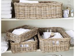 Baskets For Bathroom Storage 30 Awesome Bathroom Storage With Baskets Eyagci