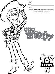 pic woody toy story coloring free download
