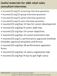 Sales Consultant Resume Sample by Top 8 At U0026t Retail Sales Consultant Resume Samples