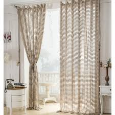 Unique Curtain Panels Lovely Design Ideas Beige Linen Curtains Modern Natural In Eco