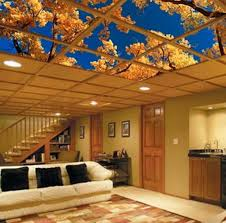 Basement Ceiling Ideas Ceiling Tile Ideas For Basement Tin Ceiling Tiles Is A Great Idea