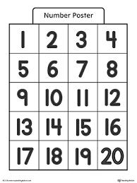 preschool writing numbers printable worksheets myteachingstation com