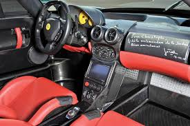 enzo steering wheel wrecked and repaired enzo sells for high price