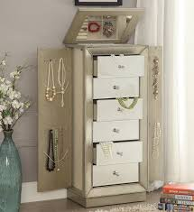 stores that sell jewelry armoire acme furniture talor jewelry armoire with mirror reviews wayfair