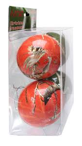 amazon com havercamp products christmas ornaments 4 pack red