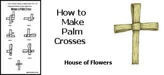 palm crosses for palm sunday easter palm sunday