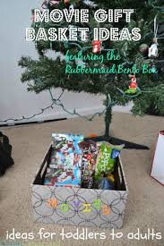 Movie Themed Gift Basket Movie Gift Basket Ideas