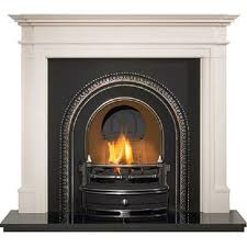 gallery radley cast iron arched insert fireplace products