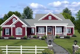 ranch farmhouse plans house plan 74834 familyhomeplans com