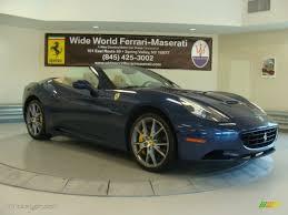 Ferrari California 2012 - 2012 blu tour de france blue metallic ferrari california