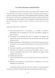 Resume For Finance Jobs by Industrial Training