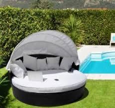 canapé lit rond canapé lit rond pour jardin chaise de rotin sintetique brown toit