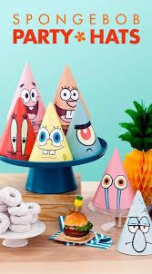 40 best spongebob diy kids birthday party images on pinterest