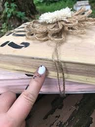 Upcycle Old Books - how to upcycle old books into cute home decor hometalk