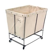 Commercial Laundry Hamper by Steele Canvas 152 Elevated Utility Truck Laundry Cart S100801
