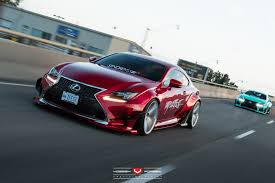 lexus is rocket bunny rocket bunny lexus rc duo importfest vossen wheels 2015
