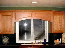 Rustic Oak Kitchen - wooden valance ideas wood kitchen window valances rustic wood