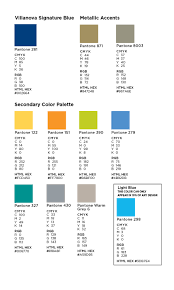 Color Palette Pantone Visual Identity Guidelines
