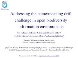 Challenge Meaning Franz Et Al 2016 Addressing The Name Meaning Drift Challenge In O