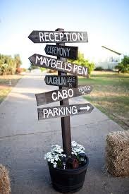 creative diy wedding signs country weddings google search and