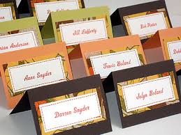 thanksgiving dinner place cards page 2 divascuisine