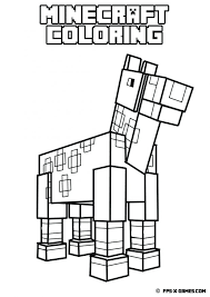 articles minecraft animal coloring pages printable tag
