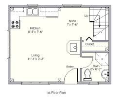cottages floor plans walter edgecomb house 1st floor great layout the