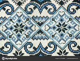 folk seamless pattern ornaments traditional
