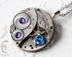 pendant pocket watch necklace images 45 best steampunk watch and clock gear necklace images on jpg